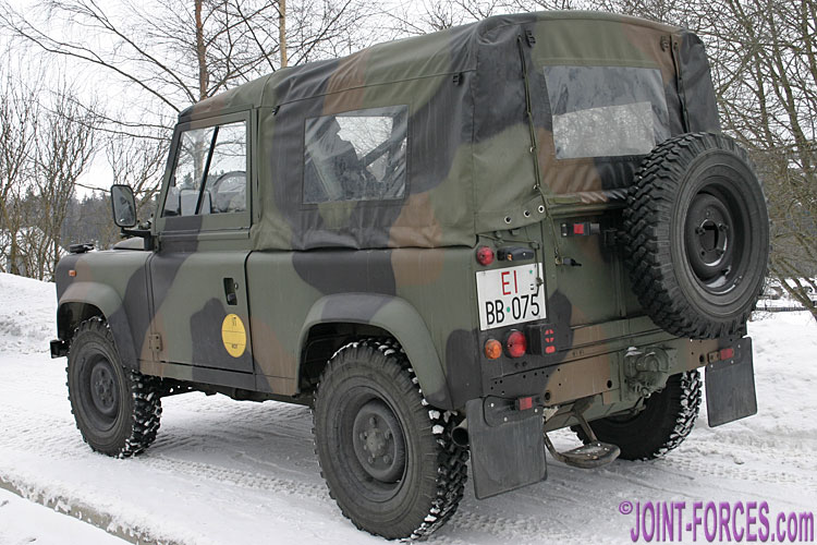 Military Land Rovers Pt 4 ~ Italian Army AR90 - Joint Forces
