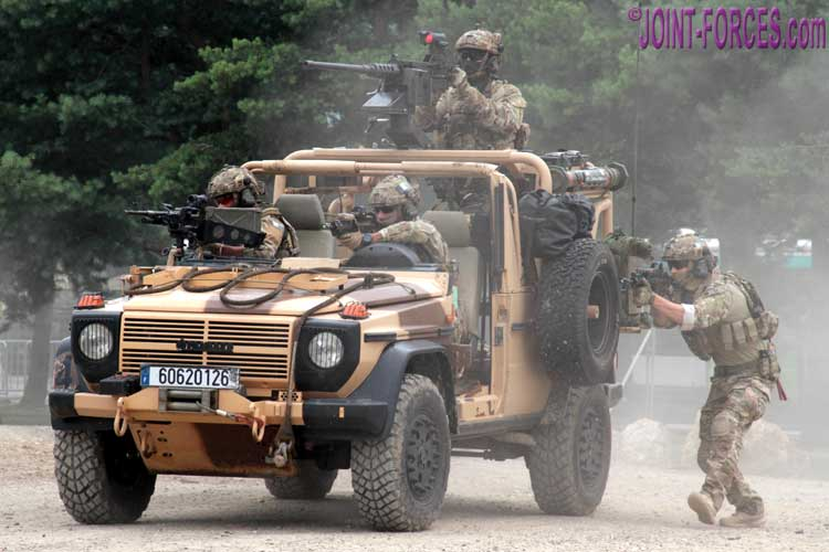 Specops And Sf Displays Eurosatory 18 Joint Forces News