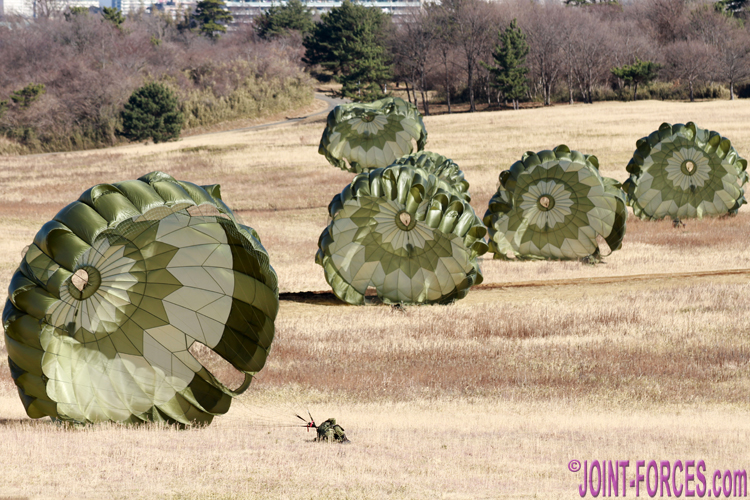 Paratrooper Focus ~ Japan Ground Self-Defence Force - Joint Forces News