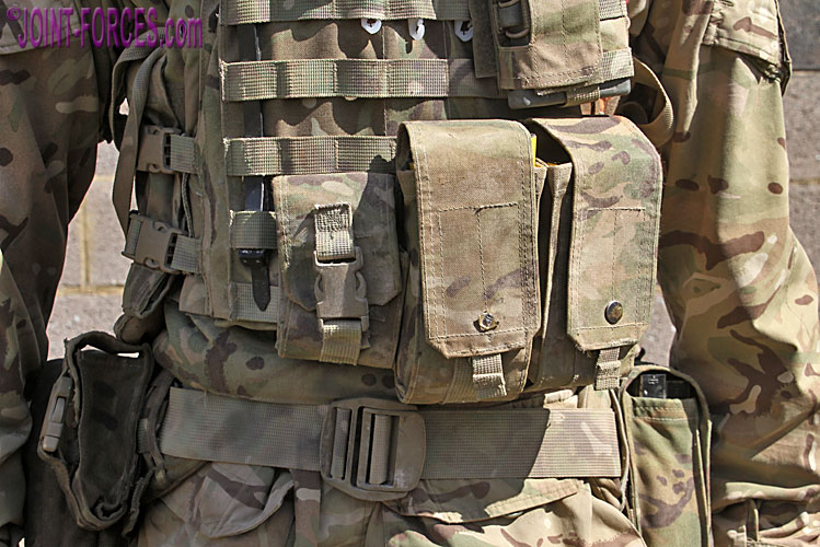MOLLE & PALS ~ Pouch Attachment Ladder System - Joint