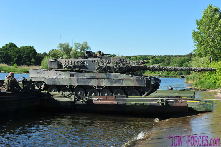 The NATO Improved Ribbon Bridge Family ~ Part 2 - Joint Forces News