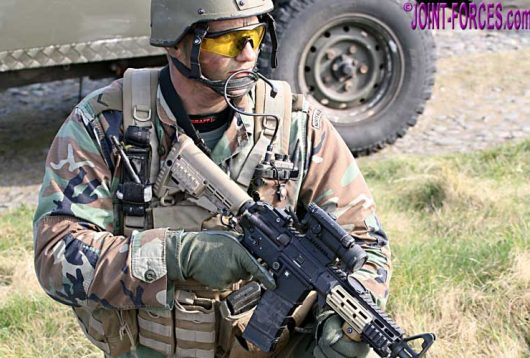Firearms - STEYR Mod G36 Upgrade - Joint Forces News