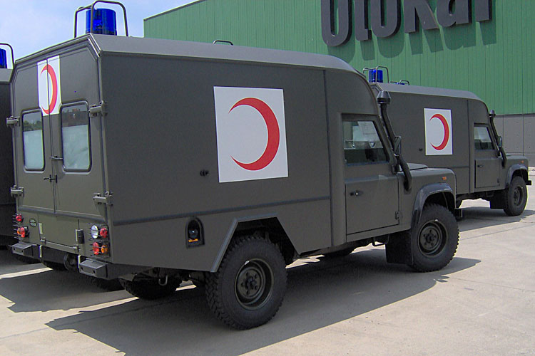 MLR29 ~ Otokar Defender Ambulance - Joint Forces News