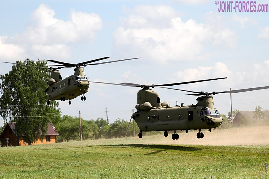 The additional forces will provide the infrastructure to support an armoured brigade combat team and combat aviation brigade on NATO's eastern flank [©Bob Morrison]