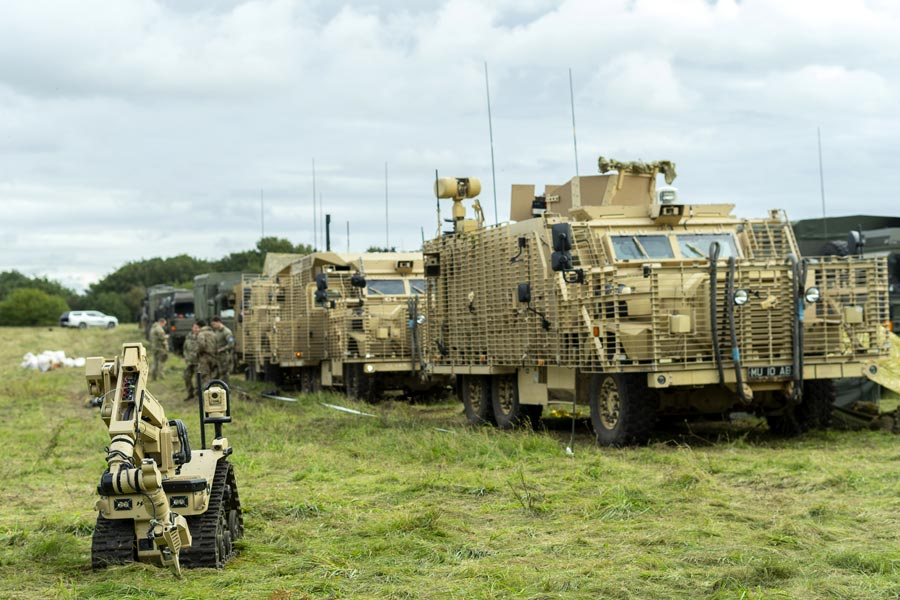 UK Mali Contingent MRX With Slingshot, T7 UGV and D40 Drone - Joint Forces News
