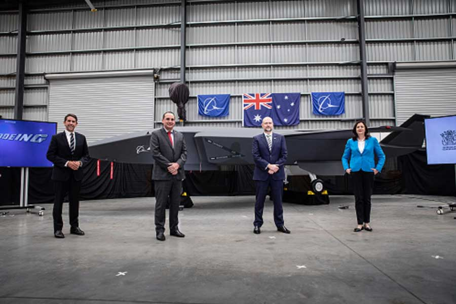 Queensland investment will evolve Boeing's Australian defence manufacturing capability for global customers and will make Queensland the final assembly facility for the Boeing Airpower Teaming System, conditional on orders [© Boeing: Bruce Gibson]